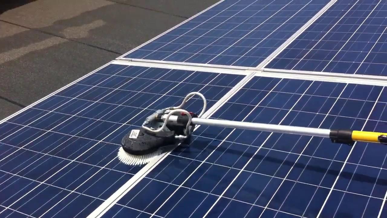 limpieza paneles solares