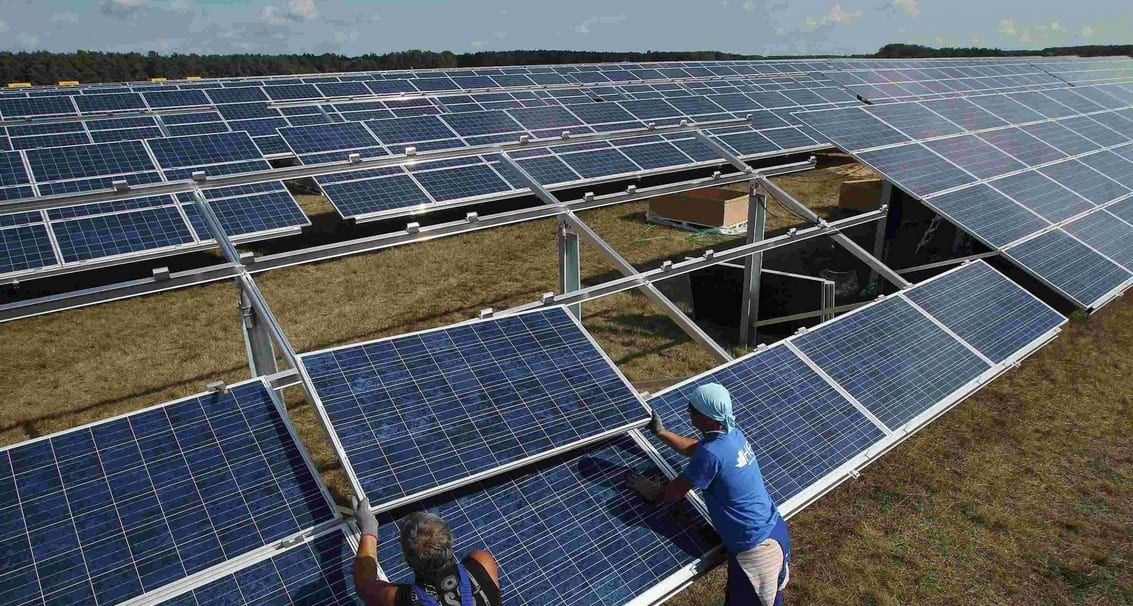 orientacion paneles solares