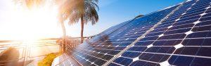 huracanes y paneles solares