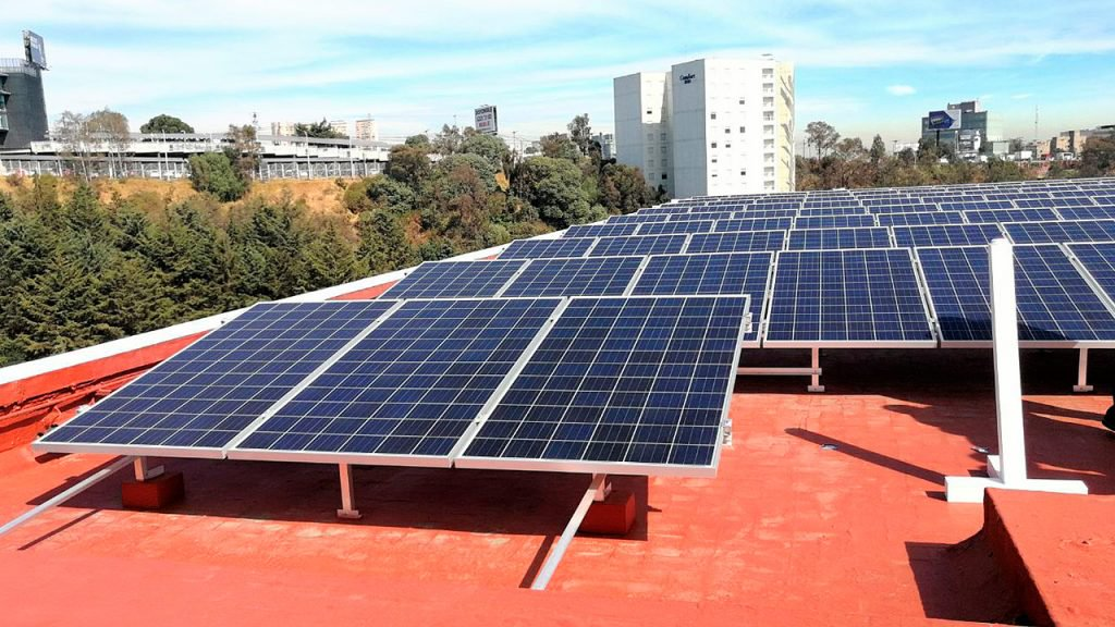 techo paneles solares